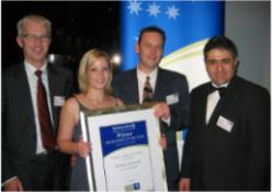 Franchise Council of Australia award winners Aussie Pooch Mobile