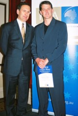 Aussie Pooch Mobile Richard Ellmers 2004 FCA Franchisee of the Year Qld & NT