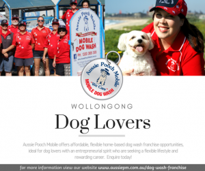 dog grooming franchise wollongong