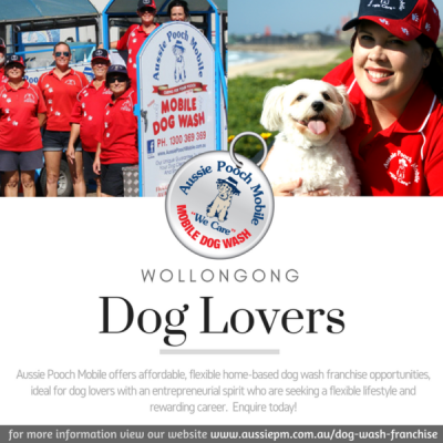 Aussie Pooch Mobile Dog Wash Franchise For Sale Helensburgh