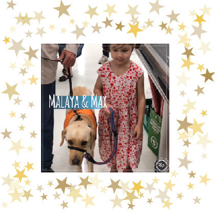 Empower Assistance dog Max & Malaya