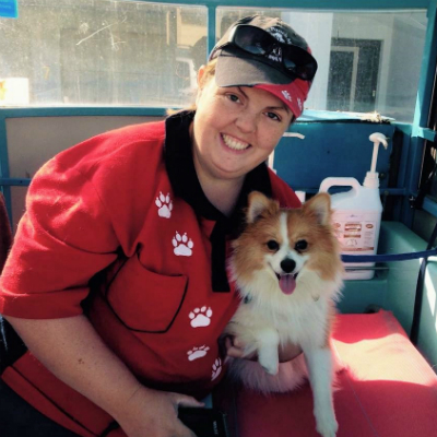 Aussie pooch mobile dog wash grooming franchise ph 1300 369 369 find out more solutioingenieria Gallery