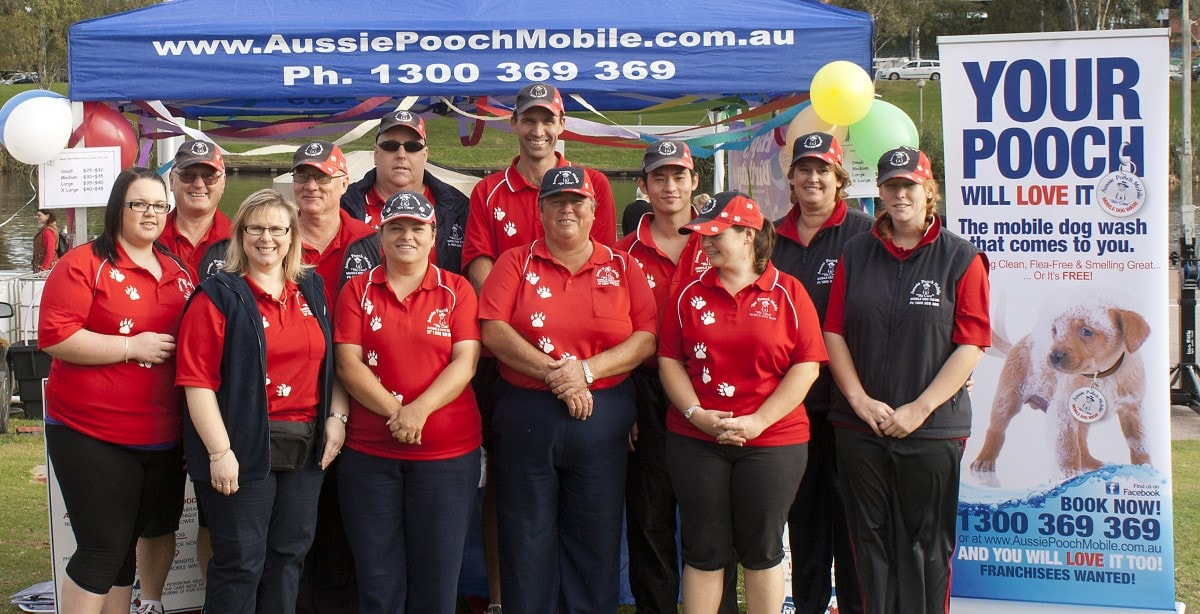 Aussie pooch mobile community support