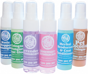 mini sprays pooch perfumes pet products