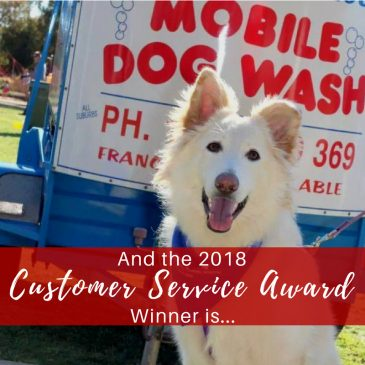 And the 2018 Customer Service Award Winner is….