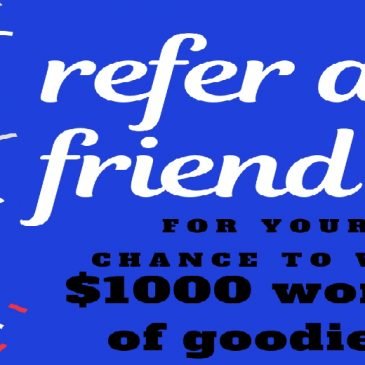 Win over $1000 worth of goodies for your best friend!