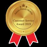 Aussie Pooch Mobile Customer Service Award 2019