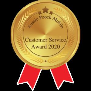 customer service award aussie pooch mobile